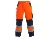 Werkbr. Engel EN471 orange/navy mt 52 nt