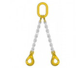 Ketting 2-sprong 0.8 mtr 10 mm compleet